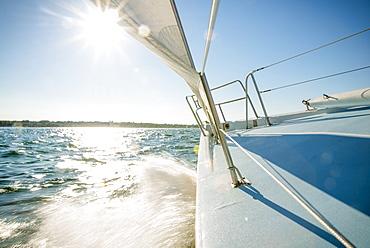 Summer Sailing In Newport, Rhode Island