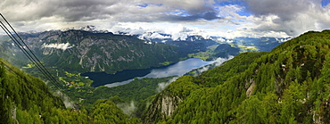 Cable Car Lookout Over Bohinjsko Valley And Bohinjsko Jezero Lake