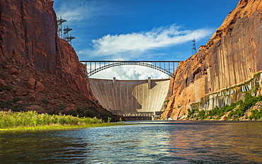 Glen Canyon Dam In Arizona