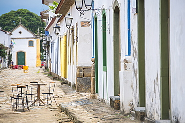 The charming town of Paraty at Costa Verde