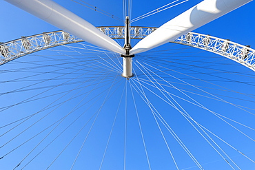 London Eye observation wheel, London, England, UK