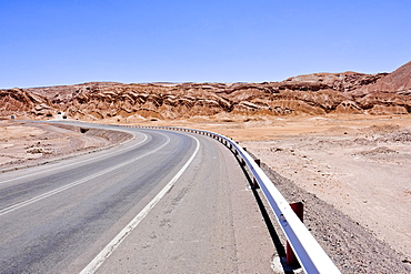 Road near Atacama Desert, Chile
