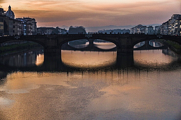 The Ponte Santa Trinita is a Renaissance bridge in Florence, Italy. The bridge was constructed by the Florentine architect Bartolomeo Ammannati from 1567 to 1569.