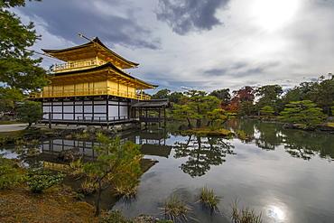 Kinkaku-ji, the golden pavilion, Kyoto, Japan