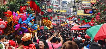 Chinese New Year celebration in Chinatown, Manila, Philippines