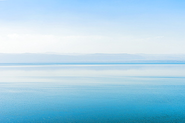 Tranquil scenery of Dead Sea, Madaba Governorate, Jordan