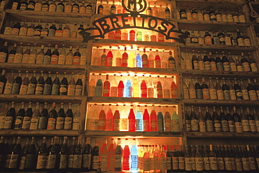 Brettos, a well known bar in the heart of Athens Plaka district, serves their own 50 year old brandy.