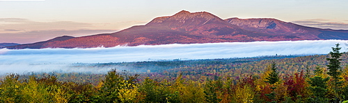 Mount Katahdin At Dawn In Maine's Katahdin Woods And Waters National Monument