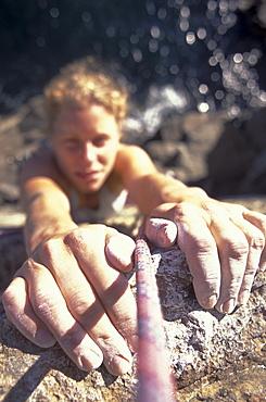 Gripping rock