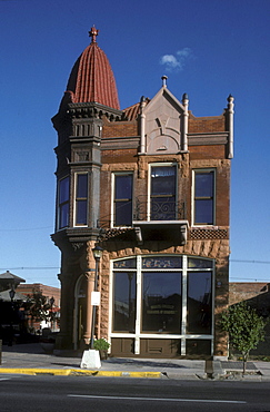 Victorian-era building in Cheyenne, Wyoming