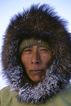Portrait of Jaypity Palluq, veteran hunter.