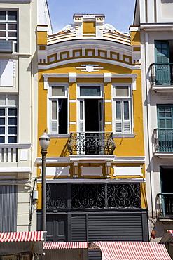 Brazil. Rio de Janeiro. Portugese Colonial Architecture. Lapa district