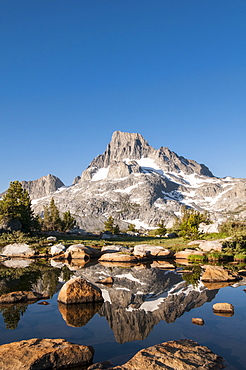 Banner Mountain and Thousand Island Lake, Sierra Nevada, Ansel Adams Wilderness, California
