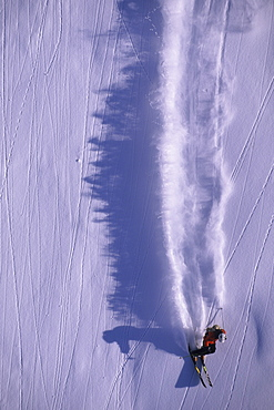 Eric Hjorleifson big mountain skiing in Terrace, British Columbia, Canada