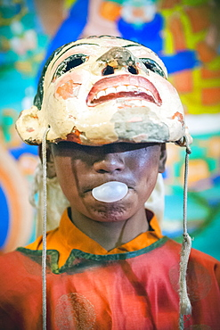 A young monk during Hemis Festival, Ladakh, India.