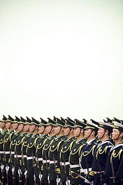 Chinese Honor Guard, Beijing, China.