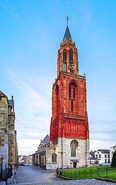 Tower Of Saint John Church In Luneburg On Vrijthof Square In Maastricht