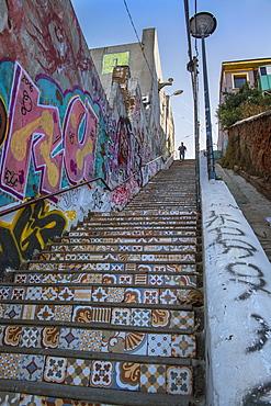 Stairs in Valparaiso