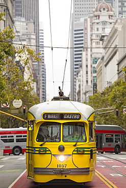 Market Street Railway, San Francisco, California, USA