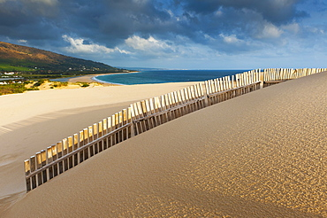 Punta Paloma Sand Dunes; Tarifa Costa De La Luz Cadiz Andalusia Spain