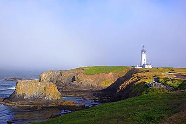Yaquina Head Lighthouse; Newport Oregon United States Of America