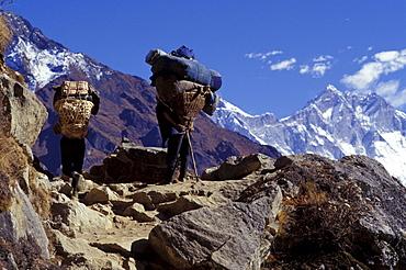 Mountaineers On Mountain