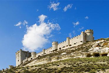 Castillo De Penafiel, Valladolid, Castilla Y Leon, Spain