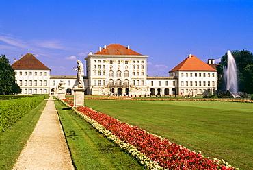 Nymphenburg Palace, Munich, Bavaria, Germany, Europe