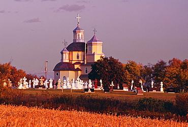 Russian Orthodox Church Near Andrew, Alberta, Canada