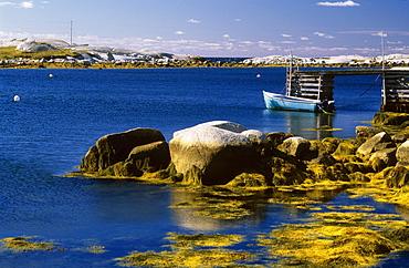 Shoreline At West Dover, Nova Scotia, Canada