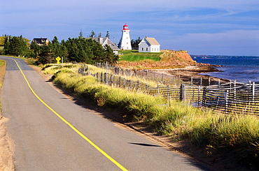 Panmure Island Lighthouse, Prince Edward Island, Canada