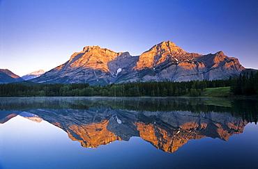 Mount Kidd, Wedge Pond, Kananaskis Country, Alberta, Canada