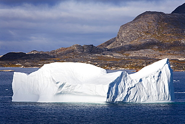 Icebergs, Island Of Qoornoq, Province Of Kitaa, Southern Greenland, Kingdom Of Denmark