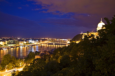 Buda Side Of Central Budapest, Capital Of Hungary, Europe