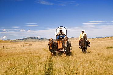 Traveling By Horseback