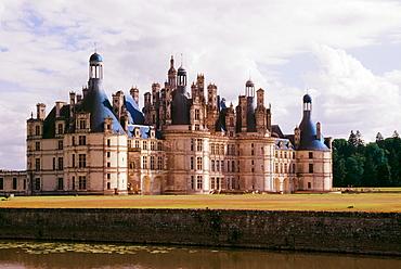 Chambord Ch√¢teau, Loire River Valley, France