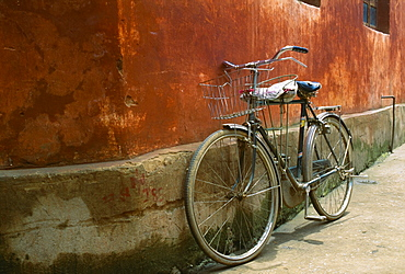 A Bicycle In Beijing, China