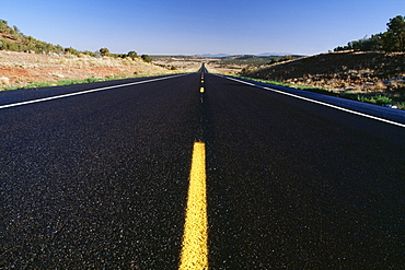 Highway In New Mexico, United States Of America
