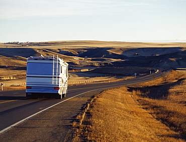 Rv Driving On The Road