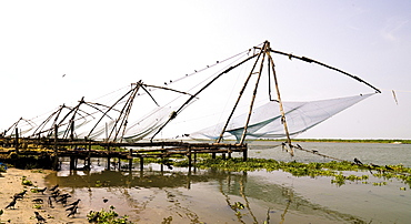 Chinese Fishing Nets, Cochin, India