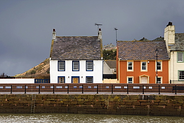 Houses On Waterfront, Maryport, Cumbria, England