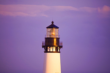 Yaquina Head Lighthouse, Oregon, Usa, 19Th Century Lighthouse Listed In The National Register Of Historic Places