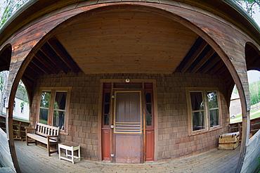 Wide Angle Doorway