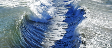 Waves In The Ocean, California, United States Of America