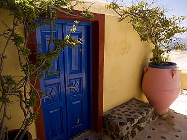 Garden, Santorini, Greece