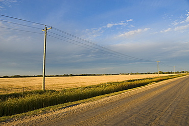 Country Road, Manitoba, Canada