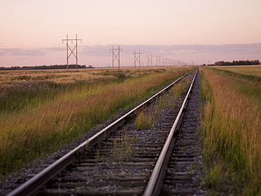 British Columbia, Canada, Train Tracks