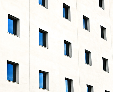 Windows In An Office Building