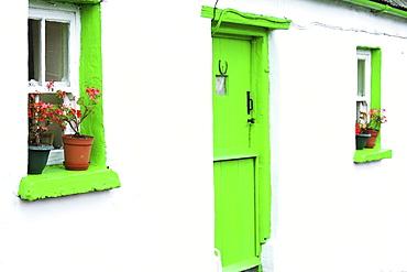 Cashel, Co Tipperary, Ireland, Entrance To Cottage