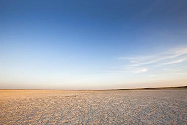 Dry Ground Reaching Into The Horizon